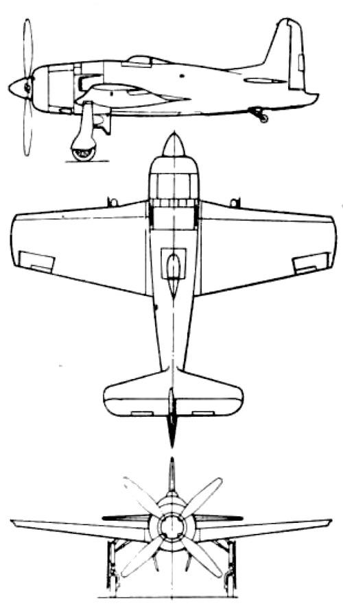 Grumman F8F Bearcat Rare Bear Racer
