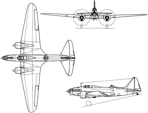 Ilyushin DB-4 (Il-4 Bob)