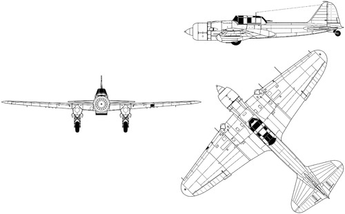 Ilyushin IL-2M-821R Sturmovik 1941