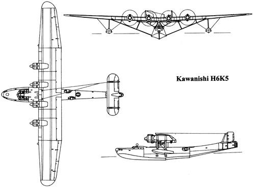 Kawanishi H6K5 [Mavis]