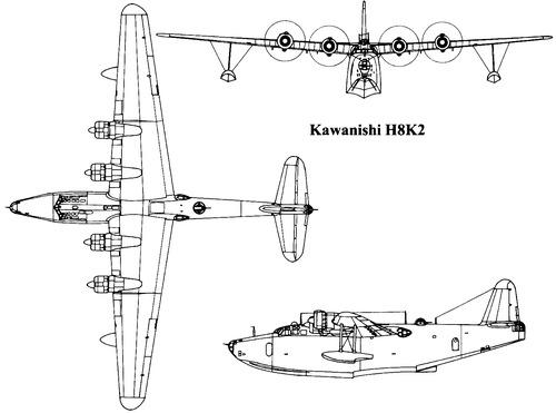 Kawanishi H8K2 [Emily]