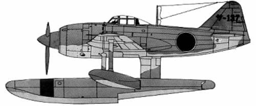 Kawanishi N1K1 Kyofu (Rex)