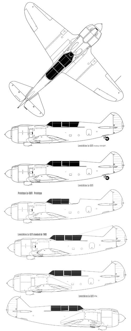 Lavochkin La-5UTI
