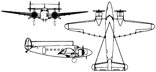 Lockheed 18 Lodestar (1939)