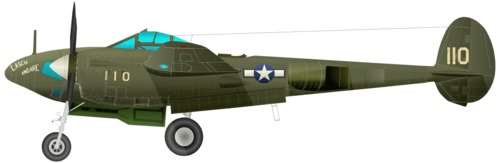 Lookheed P-38F-5A Lightning