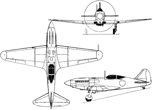 Mikoyan-Gurevich I-231 (1943)