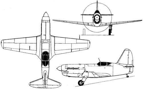 Mikoyan-Gurevich MiG-13 (I-250) (1945)