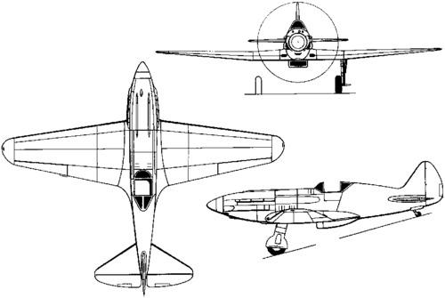 Mikoyan-Gurevich MiG-1 (1940)