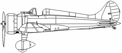 Mitsubishi A5M2b (Claude)