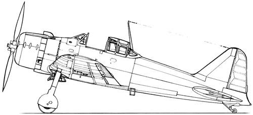 Mitsubishi A6M1 Zero