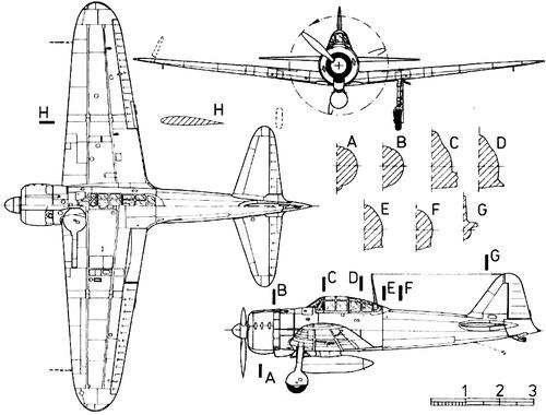 Mitsubishi A6M2 Reisen [Zero]