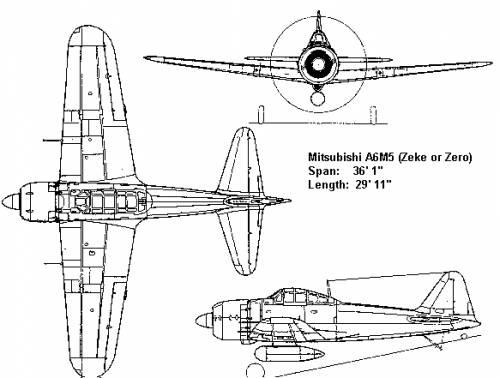 Mitsubishi A6M2 Zero