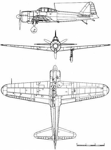 Mitsubishi A6M2 Zero Mod 21 (Zeke)