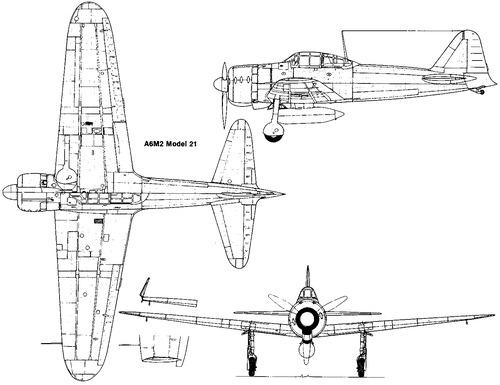 Mitsubishi A6M2 Zero (Zeke)