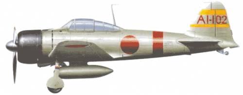 Mitsubishi A6M2b Reisen (Zero)