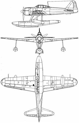 Mitsubishi A6M2N (Rufe)