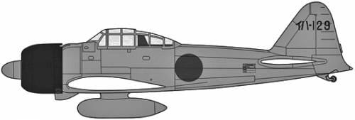 Mitsubishi A6M3 Type 22 Zero