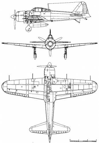 Mitsubishi A6M5 Zero Mod 52 (Zeke)