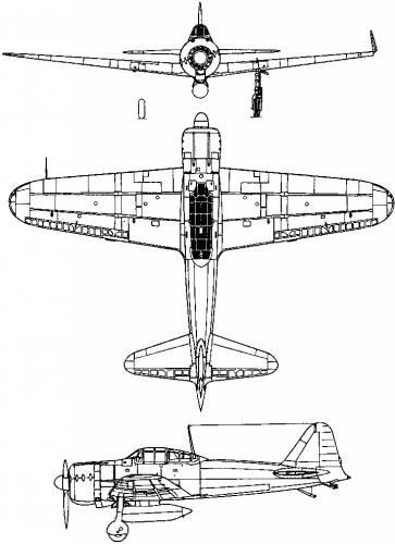 Mitsubishi A6M Reisen (Zeke) (1939)