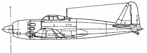 Mitsubishi A7M1 Reppu