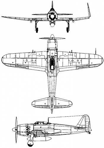 Mitsubishi A7M Reppu (Sam) (1944)