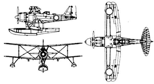 Mitsubishi F1M2 Type 0 (Pete)