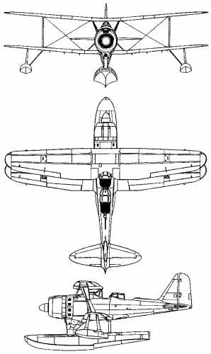 Mitsubishi F1M (Pete)