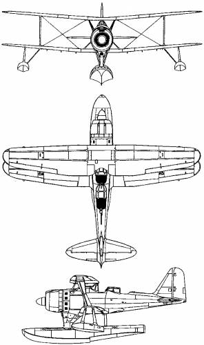 Mitsubishi F1M (Pete) (1936)