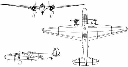Mitsubishi G3M2 (Nell)
