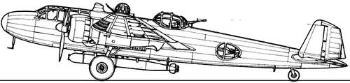 Mitsubishi G3M2 Rikko (Nell)