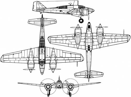 Mitsubishi Ki-46 II (Dinah)
