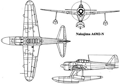 Nakajima A6M2-N [Rufe]
