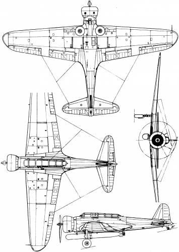 Nakajima B5N1 (Kate)