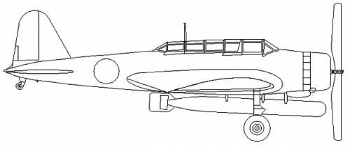 Nakajima B5N2 (Kate)