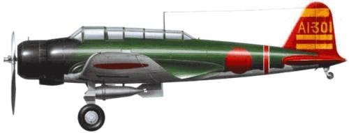Nakajima B5N2 Type 97 (Kate)
