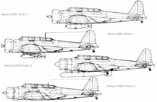 Nakajima B5N (Kate)