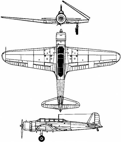 Nakajima B5N (Kate) (1937)