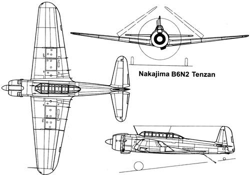 Nakajima B6N2 Tenzan [Jill]