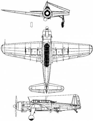 Nakajima B6N Tenzan (Jill) (1941)