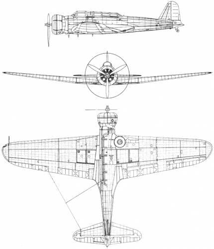 Nakajima BSN-1 Mod 11 (Kate)
