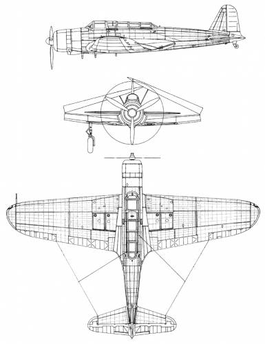 Nakajima BSN-2 Mod 12 (Kate)