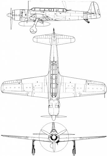 Nakajima C6N1 Saiun (Myrt)