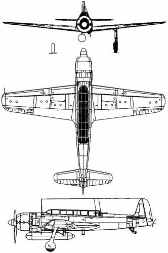 Nakajima C6N Saiun (Myrt)