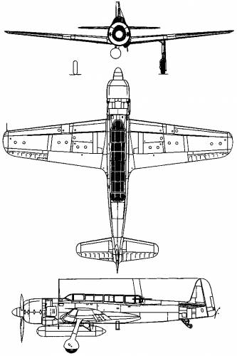 Nakajima C6N Saiun (Myrt) (1943)