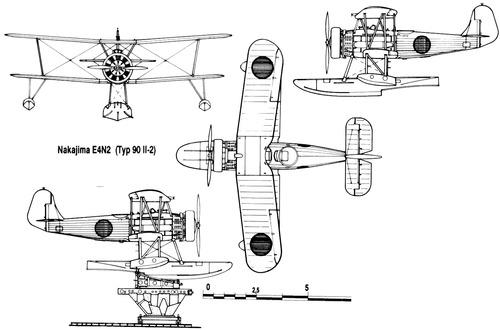 Nakajima E4N2 Type 90 II-2