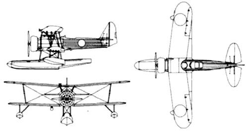 Nakajima E8N1 Type 95 (Dave)