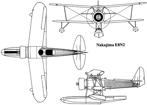 Nakajima E8N2 [Dave]