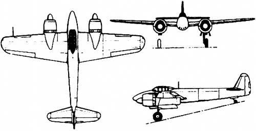 Nakajima J5N Tenrai (1944)