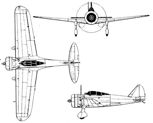 Nakajima Ki-27-II [Nate]