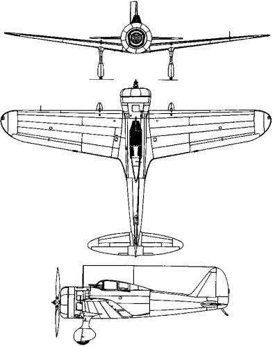Nakajima Ki-27 (Nate) (1936)